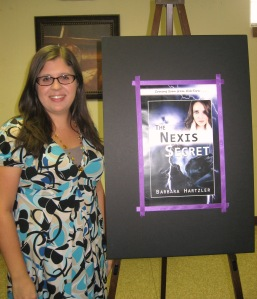 Me & My Book Cover. Aren't we cute?
